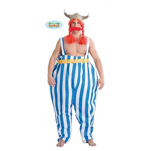 schwerer Gallischer Kämpfer Kostüm für Herren Gr. M/L, (Kostüm Halloween Asterix)