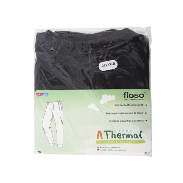 Floso - Pantalones Interiores térmicos para niños/Niñas Unisex 3