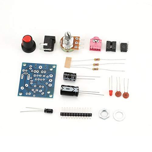 Kongqiabona LM386 Amplificador de Potencia Kit de Placa LM386 Super Mini 3V-12V...