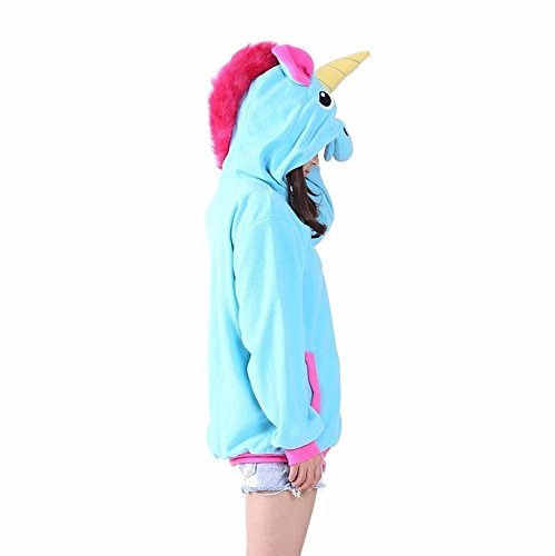 Doux Licorne Chandails Cosplay Fête Costumes S