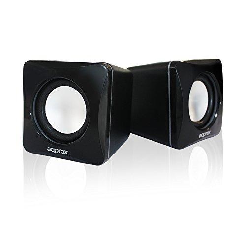 APPROX-APPSPXLITE-6-W-USB-Mini-Speaker-Black