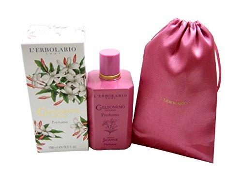 L 'Erbolario 066.139indischen Jasmin Limited Edition Parfüm mit Baumwolle Tasche