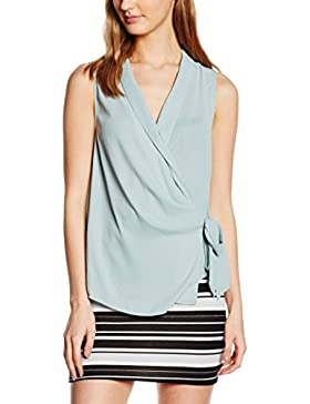 New Look Damen Top Tie Side Wrap