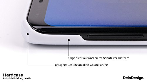Apple iPhone X Silikon Hülle Case Schutzhülle Leopard Muster Fell Hard Case weiß
