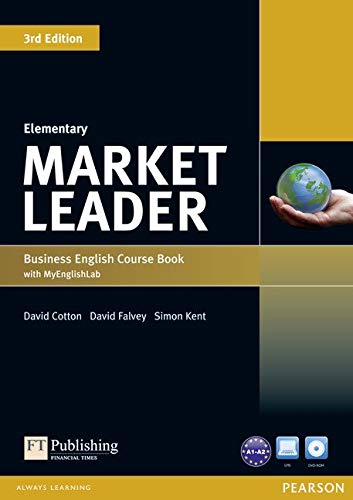 Market Leader 3rd Edition Elementary Coursebook with DVD-ROM and My EnglishLab Student online access code Pack