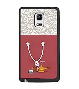 PrintDhaba Funny Image D-3728 Back Case Cover for SAMSUNG GALAXY NOTE EDGE (Multi-Coloured)