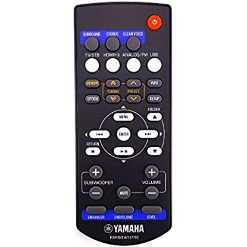 Yamaha genuino SR-301/YHT-S401receptor Control remoto