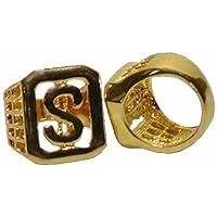KRU6150503 Ring Dollarzeichen, gold