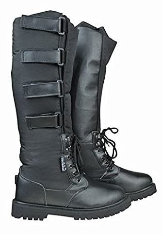 HKM Junior Ladies Mens Alaska Waterproof Spur Support Winter Horse Riding Boots