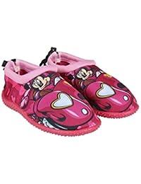 14bd074fa28ef Minnie Mouse Disney - Zapatillas de Estar por Casa de 100% poliéster Niñas