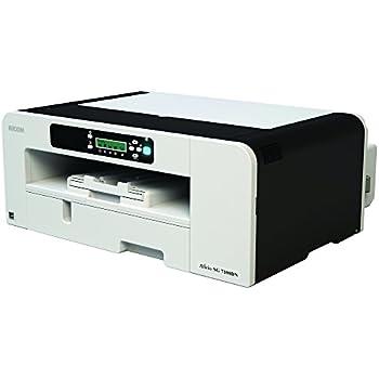 Ricoh Aficio GXE 7100DN Stampante Inkjet, Sistema di Stampa Gelsprinter, Getto Termico d'Inchiostro, Quadricromia