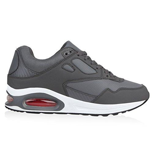 Herren Damen Sportschuhe Laufschuhe Runners Sneakers Prints Grau Cabanas