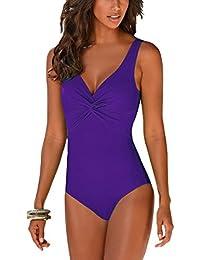 Summer Mae Costumi da Bagno Intero Push Up da Donna