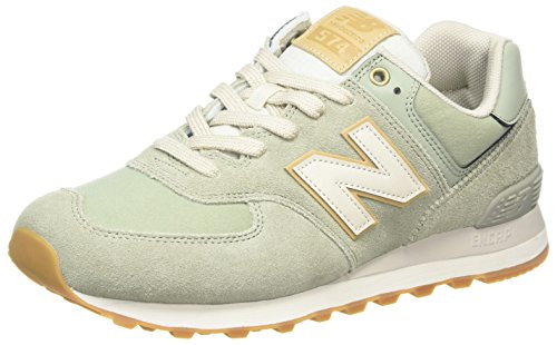 New Balance ML574OU - Baskets - Homme - Multicolore (Lime) - 46.5 EU