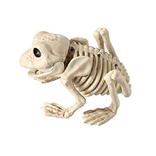 PerGrate Tierskelett-Modell Bat/Frog/Lizard Knochen Halloween Party Dekoration - Knochen Lizard