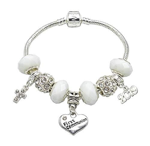 Jewellery Hut  -    versilbert       (Kommunion Geschenke Erste Mädchen)