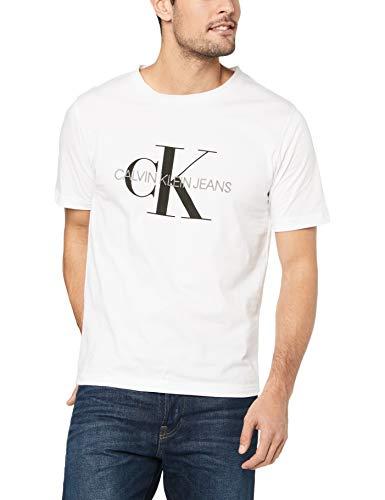 Calvin Klein Jeans Herren Shirt weiß S (Shirt Jeans Klein Calvin)