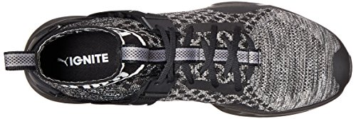 La Encender Puma A Sombra negro negro Situado Evoknit Zapato entrenador Mens Cruz Aqxn4qwv5