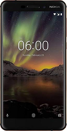 (CERTIFIED REFURBISHED) Nokia 6.1 Black / Copper