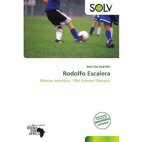 Rodolfo Escalera: Mexican American, 1984 Summer Olympics