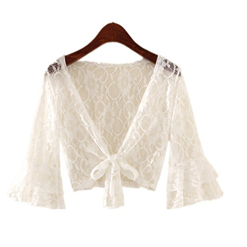 Withered-Shawl Wrap - Châle - Femme Blanc