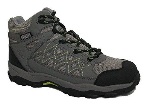 Mckinley Trek-Stiefel Cisco Hiker Aqx Jr. - grey/black/yellow Grey/Black/Yellow