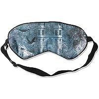 Sleep Eye Mask Castle Crow Lightweight Soft Blindfold Adjustable Head Strap Eyeshade Travel Eyepatch preisvergleich bei billige-tabletten.eu