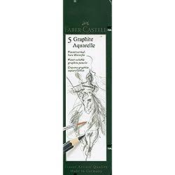 Faber-Castell 117805 - Pack de 5 lápices, multicolor