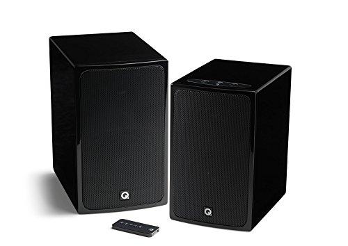 Q ACOUSTICS QA7540 BT3 Wireless Hifi Set H gloss schwarz (Wireless Home Theater System Dvd)