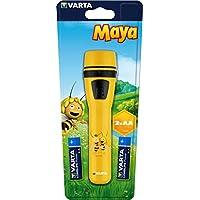 Varta die Biene Maja Taschenlampe für Kinder (inkl. 2x High Energy AA Batterien, geeignet für Kinderzimmer Kindergeburtstag, 5 mm LED)