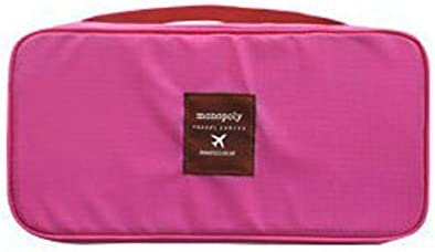 House of Quirk Nylon Pink Garment Bag