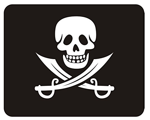 Preisvergleich Produktbild Mousepad Piraten Flagge