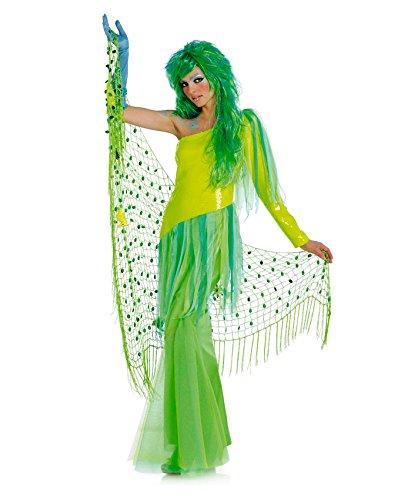 Burda 2411 Schnittmuster Kostüm Fasching Karneval Nixe Meerjungfrau (Damen, Gr. 36-48) - Level 3 - Meerjungfrau An Land Kostüm