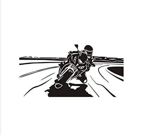 Mission Möbel Muster (Wandaufkleber Wohnzimmer Wandaufkleber Schlafzimmer Wandaufkleber Kinderzimmer Diy Abnehmbare Coole Fahrer Motorrad Muster Dekoration Liefert Tapete)