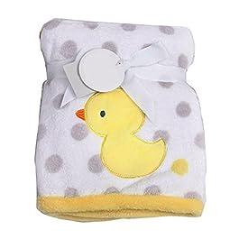 PU Ran Neugeborene Baby warm Cartoon Soft Plüsch Decke Teppich Kinderbett Korb
