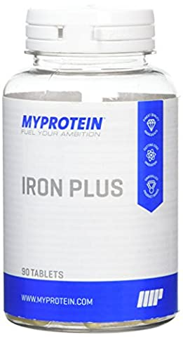 MY PROTEIN Iron and Folic Acid Multimineral Tablet, Pack of 90 Tablets
