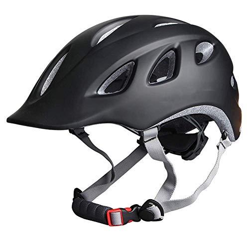 IG Helm Fahrradhelm City Bicycle Männer und Frauen, die Sicherheit einteiliger Langlaufhut reiten,C