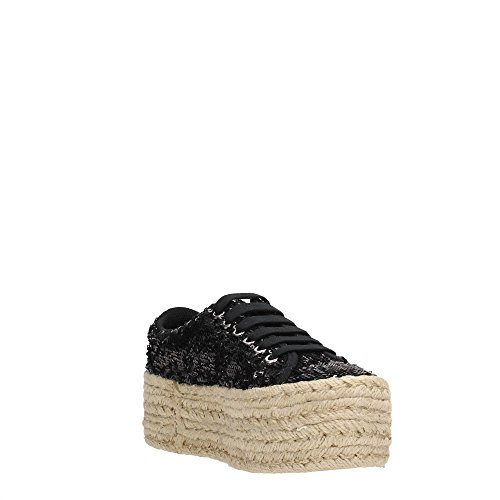 Sneaker bassa JC Play by Jeffrey Campbell Zomg in paillettes nere Nero