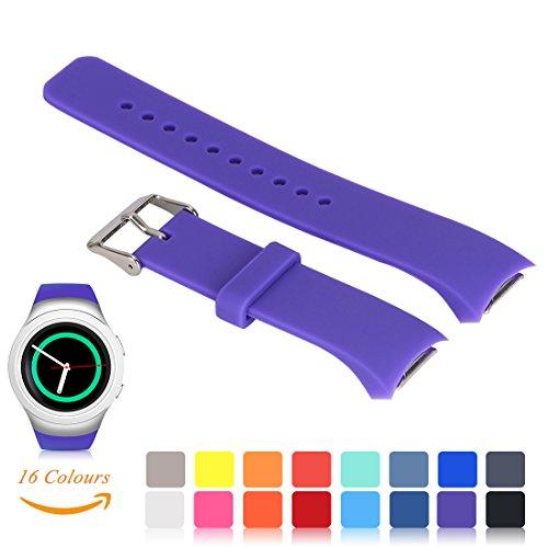 Pour Samsung Gear S2 SM-R720 / R730 Bande de rechange de montre, iFeeker Accessoires Petite taille en silicone doux Bracelet Smartwatch Band Design commun pour Samsung Galaxy Gear S2 SM-720 / SM-730