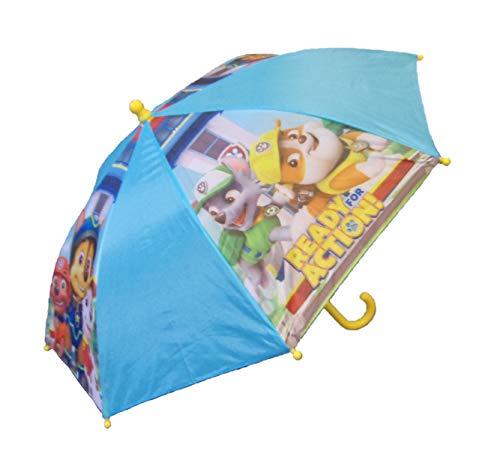 rm für Kinder, Stockschirm, 69 cm, blau/gelb, Polyester ()