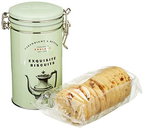 Cartwright & Butler Salted Caramel Biscuits, Tin, gesalzenes Karamellgebäck, 1er Pack (1 x )