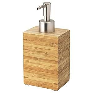 ikea dragan bois et distributeur de savon en acier inoxydable cuisine maison. Black Bedroom Furniture Sets. Home Design Ideas