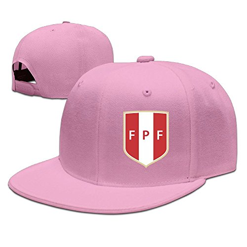 MaNeg Peru Soccer Team Unisex Fashion Cool Verstellbar Snapback Baseball Cap Hat Eine Größe