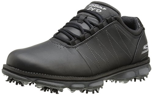 2015-skechers-go-golf-pro-performance-division-leather-mens-golf-shoes-waterproof-black-7uk