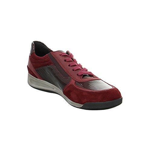 ara 12-44460-05, Scarpe stringate donna Rosso