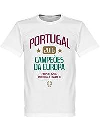 Retake Portugal européenne Champions 2016 T-Shirt – Blanc 0f6455da55a