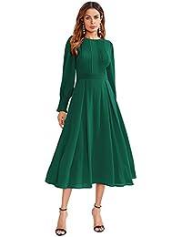 cec2263f1f8a Amazon.it  vestito verde - XS   Donna  Abbigliamento