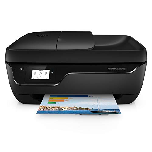 HP DeskJet 3835 All-in-One Ink Advantage Wireless Colour Printer (Black) with Voice-Activated Printing (Works with Alexa and Google Assistant)