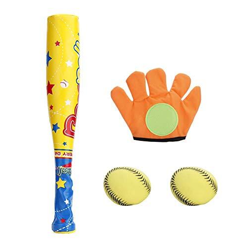VGEBY1 Baseball Set Spielzeug, Kinder Baseballschläger Ball Handschuh Set Sport Spiel Training für Kinder -