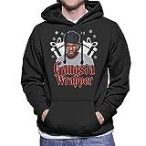 Photo de Coto7 Gangsta Wrapper 50 Cent Christmas Men's Hooded Sweatshirt par Coto7